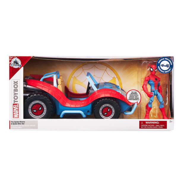 Spider-Man with Spider-Mobile