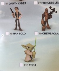 Wave 6 Star Wars