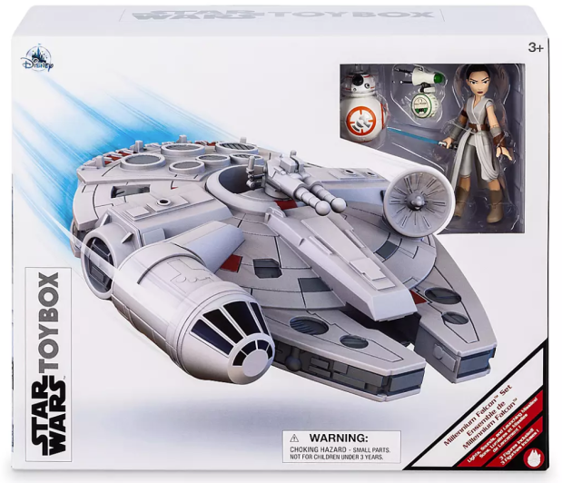 Millennium Falcon Star Wars Play Set Rey
